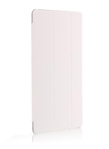Microsonic Apple iPad 9.7 2017 (A1822-A1823) Smart Case ve arka Kılıf Beyaz Beyaz